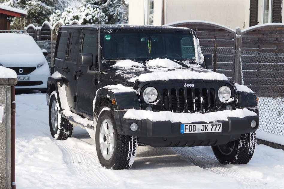 Jeep Wrangler JKU « Intuition